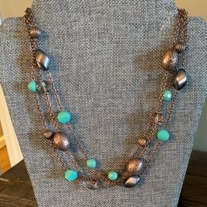 Ambassador necklace, bracelet and earrings